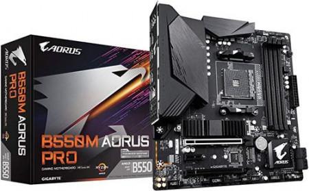 Slika MB GIGABYTE B550M AORUS PRO, AMD B550, 4XDIMM, AM4