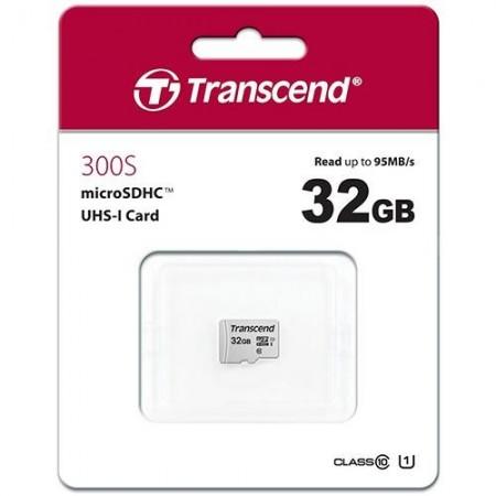 Slika Micro SD 32GB TRANSCEND 300S, TS32GUSD300S, UHS-I, U3, class 10, 95/45 MB/s