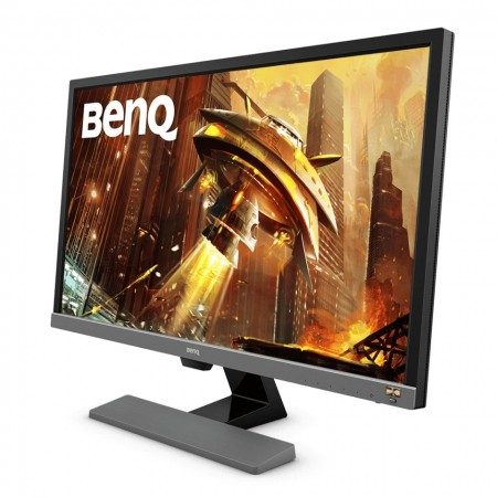 Slika Monitor 28″ BENQ EL2870U, LED, 16:9, 4K, 2x HDMI, DP, 2 x 2W, 1ms, grey
