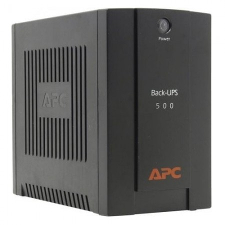UPS APC BX500CI, Back UPS, 500VA/300W, black