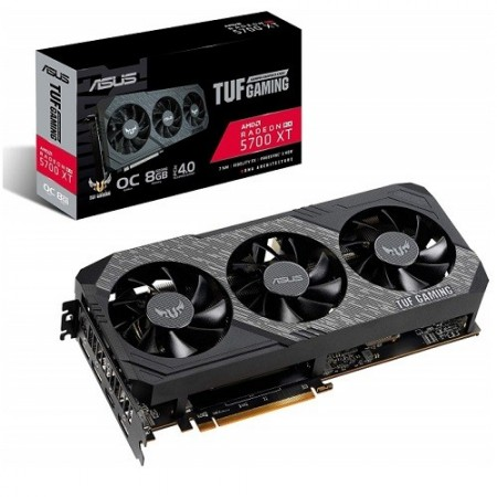 Slika VGA ASUS AMD Radeon RX 5700 XT, TUF 3-RX5700XT-O8G-GAMING, 8GB DDR6, 256-bit