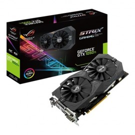Slika VGA ASUS ROG STRIX-GTX1050TI-4G-GAMING,  GeForce® GTX 1050Ti, 4GB DDR5, 128-bit
