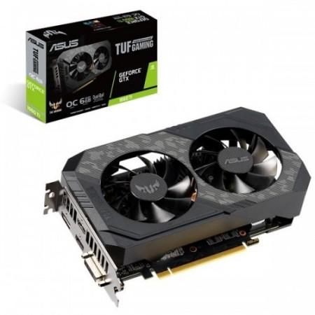 Slika VGA ASUS TUF-GTX1660-O6G, nVidia GeForce GTX 1660, 6GB DDR6, 192-bit