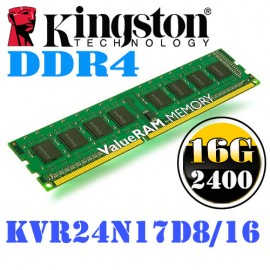 Slika 16 GB DDR4/2400 KINGSTON KVR24N17D8/16, ValueRAM