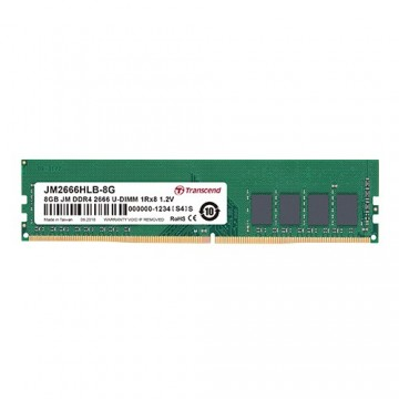Slika 8 GB DDR4/2666 TRANSCEND JM2666HLH-8G, CL17, 1.2V