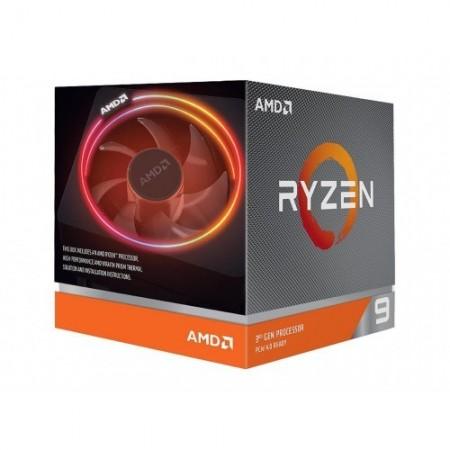 Slika CPU AMD Ryzen 9 3900X, 3.8 GHz (4.6 GHz), 12 Cores/24 Threads, 64MB L3 Cache, 7nm, 105W, Wraith Prism with RGB LED, Socket AM4
