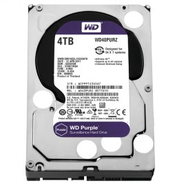 Slika HDD 4 TB WESTERN DIGITAL Purple, WD40PURZ, 64MB, 5400rpm,za video nadzor, SATA 3