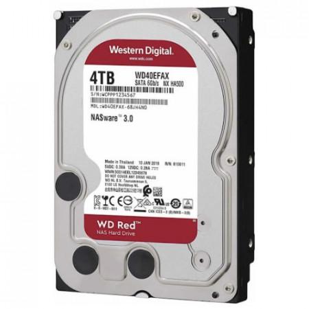 HDD 4TB WESTERN DIGITAL Red, WD40EFAX, NAS, 256MB, SATA 3