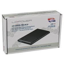 "Slika HDD Rack LC Power 2.5"" LC-25U3-7B-ALU, SATA, USB 3.0"