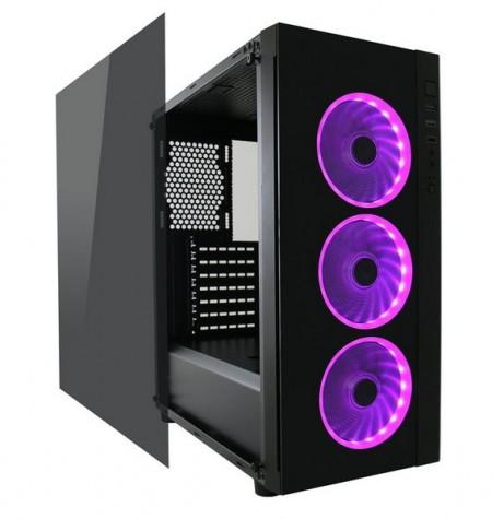 Kućište LC-POWER Gaming 995B - Light Box - ATX Gaming, 3x 120 mm RGB case fans