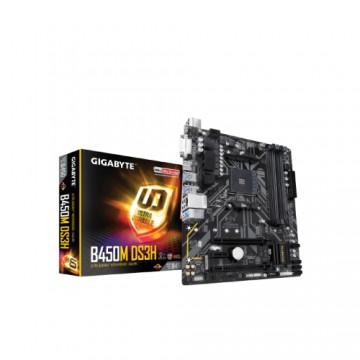 Slika MB GIGABYTE B450M DS3H, AMD B450, 4XDIMM, s.AM4