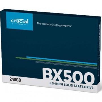 Slika SSD 240GB CRUCIAL BX500, CT240BX500SSD1, 3D NAND, 540/500 MB/s, SATA 3