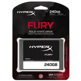 Slika SSD 240GB KINGSTON HyperX Fury SHFS37A/240G, SATA 3, 500/500 MB/s