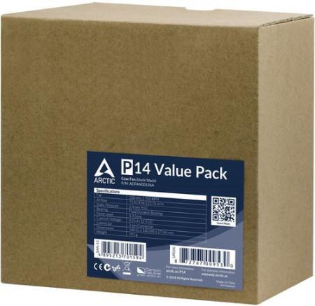 Slika Ventilator za kućište Arctic P14 Value Pack (5XFAN) 14cm, ACFAN00136A
