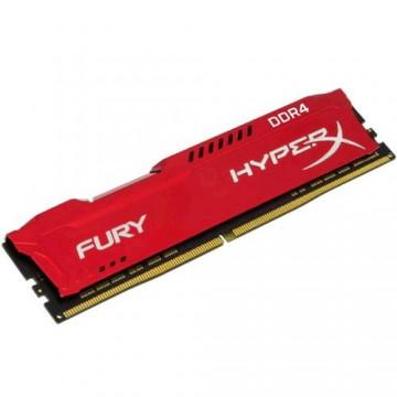 Slika 16 GB DDR4/2666 KINGSTON HX426C16FR/16, HyperX FURY Red