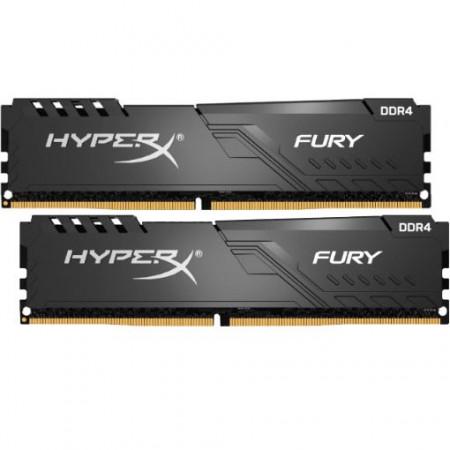 Slika 16GB (2 x 8GB) DDR4/2666 KINGSTON HX426C16FB3K2/16, HyperX Fury