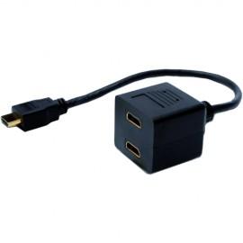 Slika ASSMANN HDMI Y-SPLITTER CABLE, HDMI NA 2xHDMI M/F AK-330400-002-S