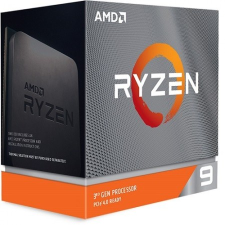 Slika CPU AMD Ryzen 9 3950X, 3.5 GHz (4.7 GHz), 16 Cores/32 Threads, 64MB L3 Cache, 7nm, 105W, bez kulera, AM4