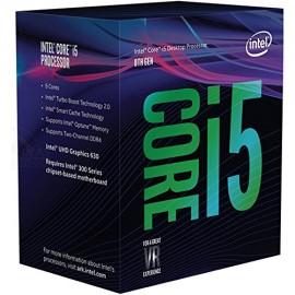 Slika CPU INTEL Core i5-8600, 6 cores, 3.10 GHz (4.3 Ghz), 9MB, 65W, Intel® HD Graphics 630, LGA 1151, BOX