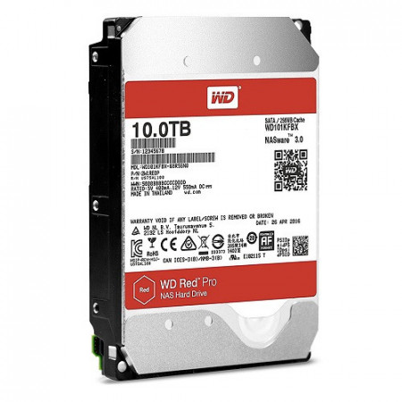 Slika HDD 10TB WESTERN DIGITAL Red Pro, WD101KFBX, NAS, 7200 rpm, 256MB, SATA 3