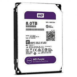 Slika HDD 8 TB WESTERN DIGITAL Purple, WD80PURZ, 128MB, 5400 rpm, za video nadzor, SATA 3