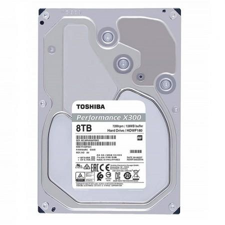 Slika HDD 8TB TOSHIBA HDWF180UZSVA, X300 series, 128MB, 7200 rpm, SATA 3