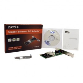 Slika LAN card Netis AD-1102, 10/100/1000 Mbit, PCI + LP Bracket