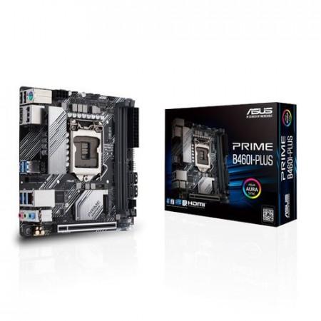 Slika MB ASUS PRIME B460I-PLUS, Intel B460, mini-ITX, s.1200