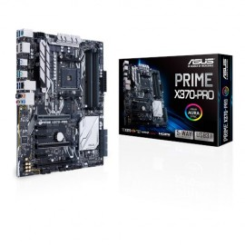 Slika MB ASUS PRIME X370-PRO, AM4, AMD X370, 4 x DIMM, Max. 64GB, DDR4 3200(O.C.), Integrated AMD Radeon™ R Series