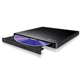 Slika USB DVD-RW eksterni LG GP57EB40, slim, black
