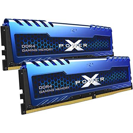 16GB (2 x 8GB) DDR4/3200, SILICON POWER XPOWER Turbine, SP016GXLZU320BDA, 1.35V, CL16