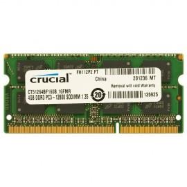 Slika 4 GB DDR3/1600 SO-DIMM, CRUCIAL CT51264BF160B, 1.35V, CL11