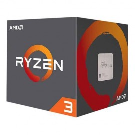Slika CPU AMD Ryzen 3 1200 AF, 3.1GHz (3.4GHz), 4 Cores, 10MB, 65W, AMD Wraith Stealth cooler, AM4