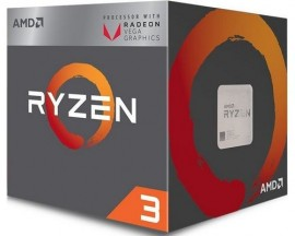 Slika CPU AMD Ryzen 3 2200G 3.5GHz (3.7GHz), RX Vega 8, 4 cores, AM4, BOX