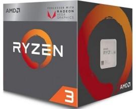 Slika CPU AMD Ryzen 3 2200G 3.5GHz (3.7GHz), RX Vega 8, 4 cores, AM4, BOX