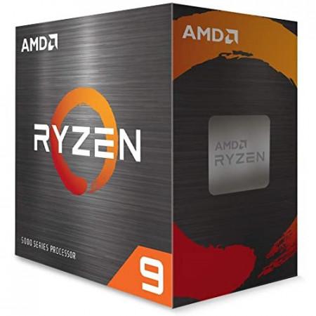 Slika CPU AMD Ryzen 9 5900X, 3.7 GHz (4.8 GHz), 12C/24T, 64MB L3, 7nm, 105W, no cooler, Zen 3, AM4
