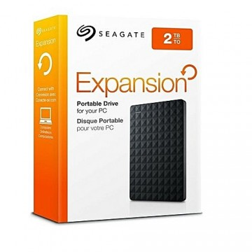 "Slika HDD External 2TB SEAGATE Expansion Portable STEA2000400, USB 3.0, 2.5"", black"