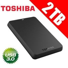 "Slika HDD External 2TB TOSHIBA CANVIO Basic, HDTB320EK3CA, USB 3.0, 8 MB, 5.400 rpm, 2.5"""