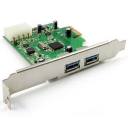 Kontroler Green Connection PCIex USB3.0, 2port, NEC chip
