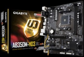 Slika MB GIGABYTE GA-AB350M-HD3, AMD B350, s.AM4