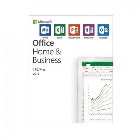 Slika Microsoft Office Home and Business 2019, English CEE Only Medialess (T5D-03347)