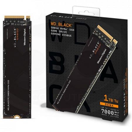 Slika SSD 1TB Western Digital Black SN850 NVMe, WDS100T1X0E, Gen4 x4, M.2 2280, 7000/4100 MB/s