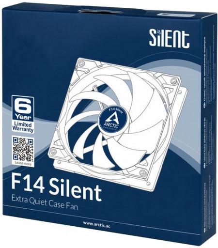 Slika Ventilator za kućište Arctic F14 Silent, 14cm,