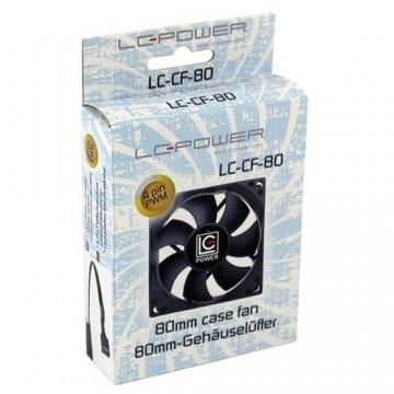 Ventilator za kućište LC POWER LC-CF-80, 8cm, 800 - 2200 rpm, 4 pin (PWM thermocontrol8