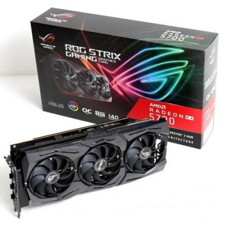 Slika VGA ASUS AMD Radeon RX 5700, ROG-STRIX-RX5700-O8G-GAMING, 8GB DDR6, 256-bit