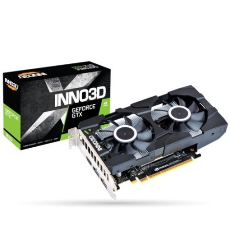 Slika VGA INNO3D GEFORCE GTX 1650 TWIN X2 OC 4G, nVidia GeForce GTX 1650, 4GB DDR5, 128-bit,  N16502-04D5X-1510VA25