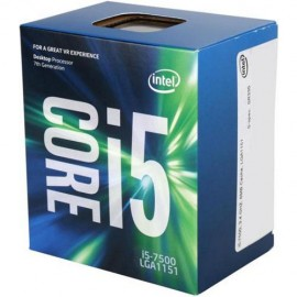 Slika CPU INTEL Core i5-7500, 3.4 GHz (3.8 GHz), 6MB, 65W, Intel® HD Graphics 630, LGA 1151, BOX