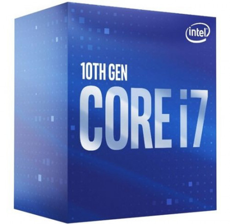 Slika CPU INTEL Core i7-10700, 8-Core, 2.9GHz (4.8GHz), 16MB, 65W, LGA 1200, BOX