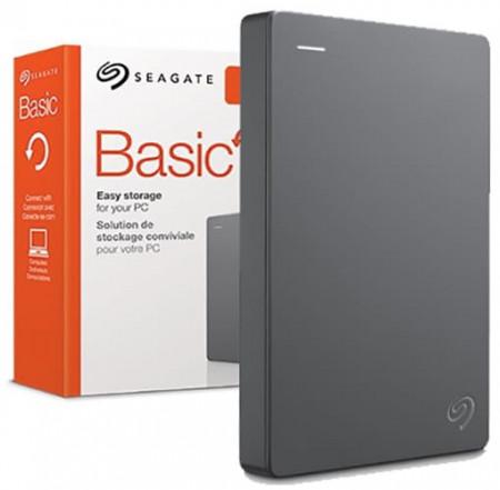 """Slika HDD External 4TB SEAGATE Basic, STJL4000400, USB 3.0, 2.5"""", black"""