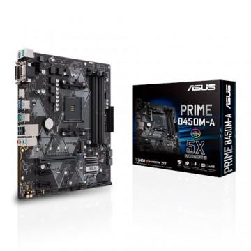 Slika MB ASUS PRIME B450M-A, AM4, AMD B450, 4 x DIMM
